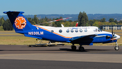 N530LM - Beechcraft 200 Super King Air - LifeMed Alaska