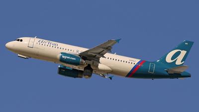 N391LF - Airbus A320-232 - airTran Airways