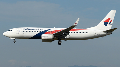 9M-MLT - Boeing 737-8H6 - Malaysia Airlines