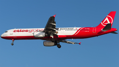 TC-ETN - Airbus A321-131 - AtlasGlobal