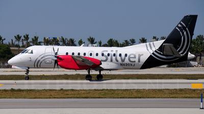 A picture of N420XJ - Saab 340B - [340B420] - © Soren Madsen - CPH Aviation
