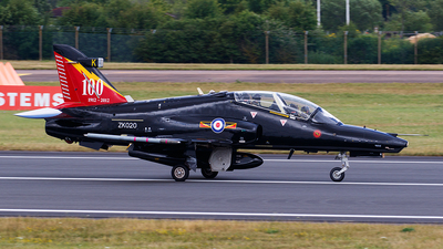 ZK020 - British Aerospace Hawk T.2 - United Kingdom - Royal Air Force (RAF)