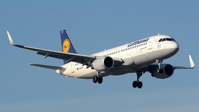 D-AIUR - Airbus A320-214 - Lufthansa