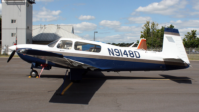 N9148D - Mooney M20M TLS - Private