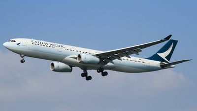 B-LAK - Airbus A330-343 - Cathay Pacific Airways