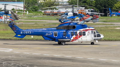 B-70Y2 - Eurocopter EC 225LP Super Puma II+ - China Offshore Helicopter Service Corporation (COHC)