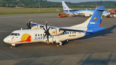 HK-4949 - ATR 42-500 - Satena