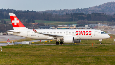 A picture of HBJCD - Airbus A220300 - Swiss - © Roland Brei - RFotomoments