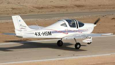 4X-HSM - Tecnam P2002 Sierra - Private