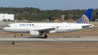 A picture of N1902U - Airbus A320232 - United Airlines - © Matthew Scott