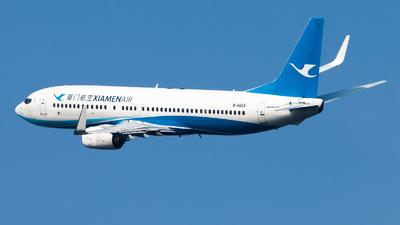 A picture of B5655 - Boeing 73785C - Xiamen Air - © Lazy Clutch