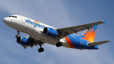 N338NV - Airbus A319-112 - Allegiant Air
