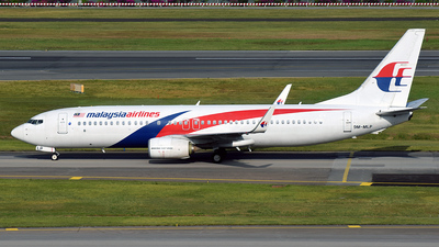 A picture of 9MMLP - Boeing 7378H6 - Malaysia Airlines - © 42 dono