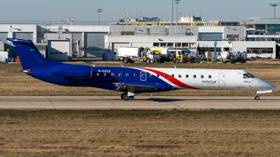 G-CIYX - Embraer ERJ-145LR - Eastern Airways