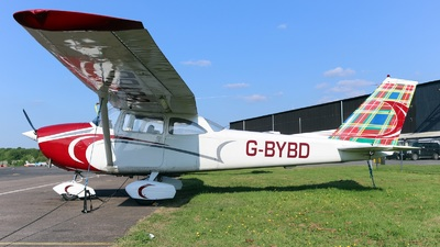 G-BYBD - Reims-Cessna F172H Skyhawk - Private