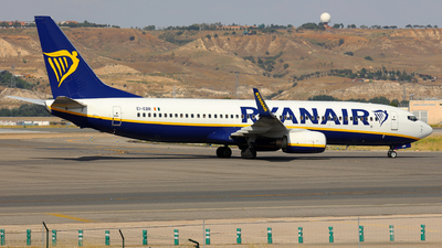 A picture of EIEBR - Boeing 7378AS - Ryanair - © J.M.Carballo