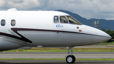 HK-4670 - Raytheon Hawker 800XP - Central Charter Colombia