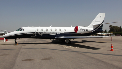 UR-CQO - Cessna 680 Citation Sovereign - Private