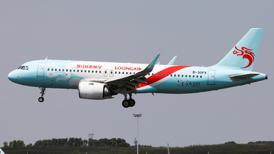 A picture of B30FV - Airbus A320251N - Loong Air - © King Wang