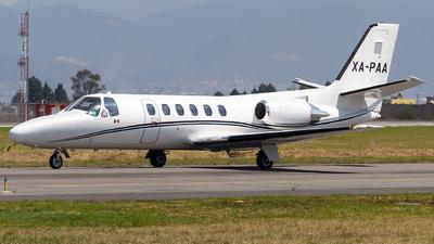 XA-PAA - Cessna 550 Citation II - Private