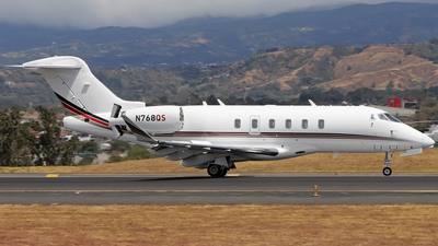N768QS - Bombardier BD-100-1A10 Challenger 350 - NetJets Aviation