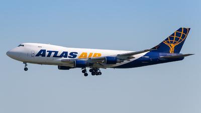 A picture of N498MC - Boeing 74747U(F) - Atlas Air - © Markus Schwab