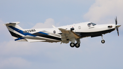 N829WA - Pilatus PC-12/47E - Private