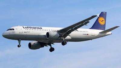 D-AIPH - Airbus A320-211 - Lufthansa