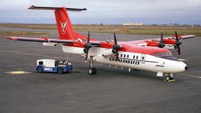 OY-CBU - De Havilland Canada DHC-7-103 Dash 7 - Greenlandair