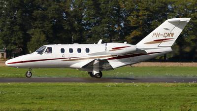 A picture of PHCMW - Cessna 525 CitationJet CJ1+ - [5250613] - © BaszB