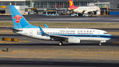 A picture of B5247 - Boeing 73771B - China Southern Airlines - © BillyLIAO