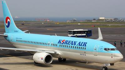 HL8247 - Boeing 737-8SH - Korean Air