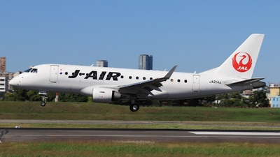 JA214J - Embraer 170-100STD - J-Air