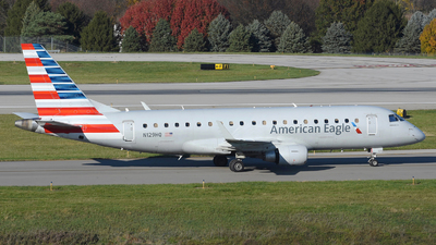 A picture of N129HQ - Embraer E175LR - American Airlines - © DJ Reed - OPShots Photo Team