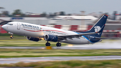 A picture of N950AM - Boeing 737852 - Aeromexico - © CityHopper
