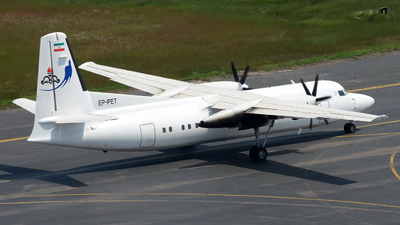 EP-PET - Fokker 50 - Naft Airlines