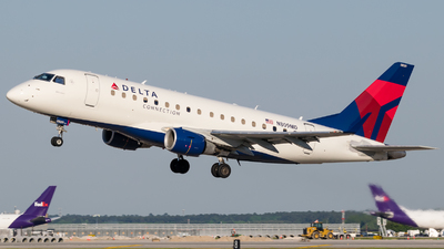 A picture of N809MD - Embraer E170SU - Delta Air Lines - © Positive Rate Photography