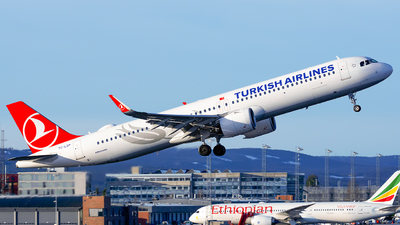 TC-LSP - Airbus A321-271NX - Turkish Airlines