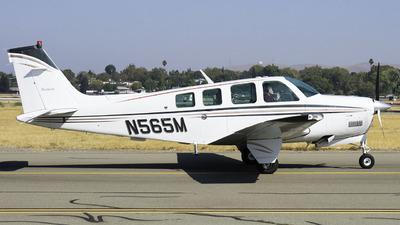 A picture of N565M - Beech A36 Bonanza - [E2525] - © Taylor Kim