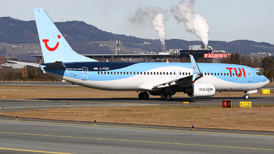 A picture of GFDZF - Boeing 7378K5 - TUI fly - © Heidi Wanninger