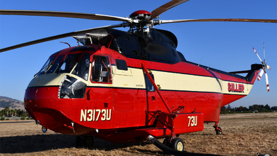 N3173U - Sikorsky S-61A - Siller Helicopters