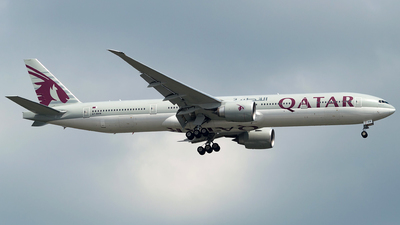 A7-BAN - Boeing 777-3DZER - Qatar Airways