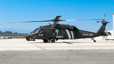 A picture of N80VC - Sikorsky UH60L Black Hawk - [0627110] - © Ricky Teteris