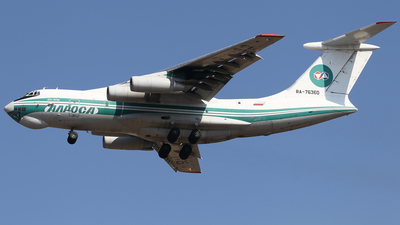 RA-76360 - Ilyushin IL-76TD - Alrosa Airlines