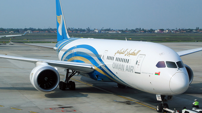 A picture of A4OSC - Boeing 7879 Dreamliner - Oman Air - © M. Raykahn Ariga