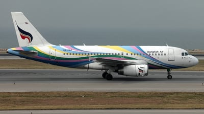 HS-PGZ - Airbus A319-132 - Bangkok Airways