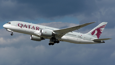 A picture of A7BCM - Boeing 7878 Dreamliner - Qatar Airways - © András Soós