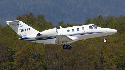 YU-FNR - Cessna 525 Citation CJ1 - Private