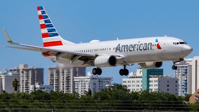 N885NN - Boeing 737-823 - American Airlines