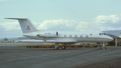 5X-UPF - Gulfstream G-II - Uganda - Government